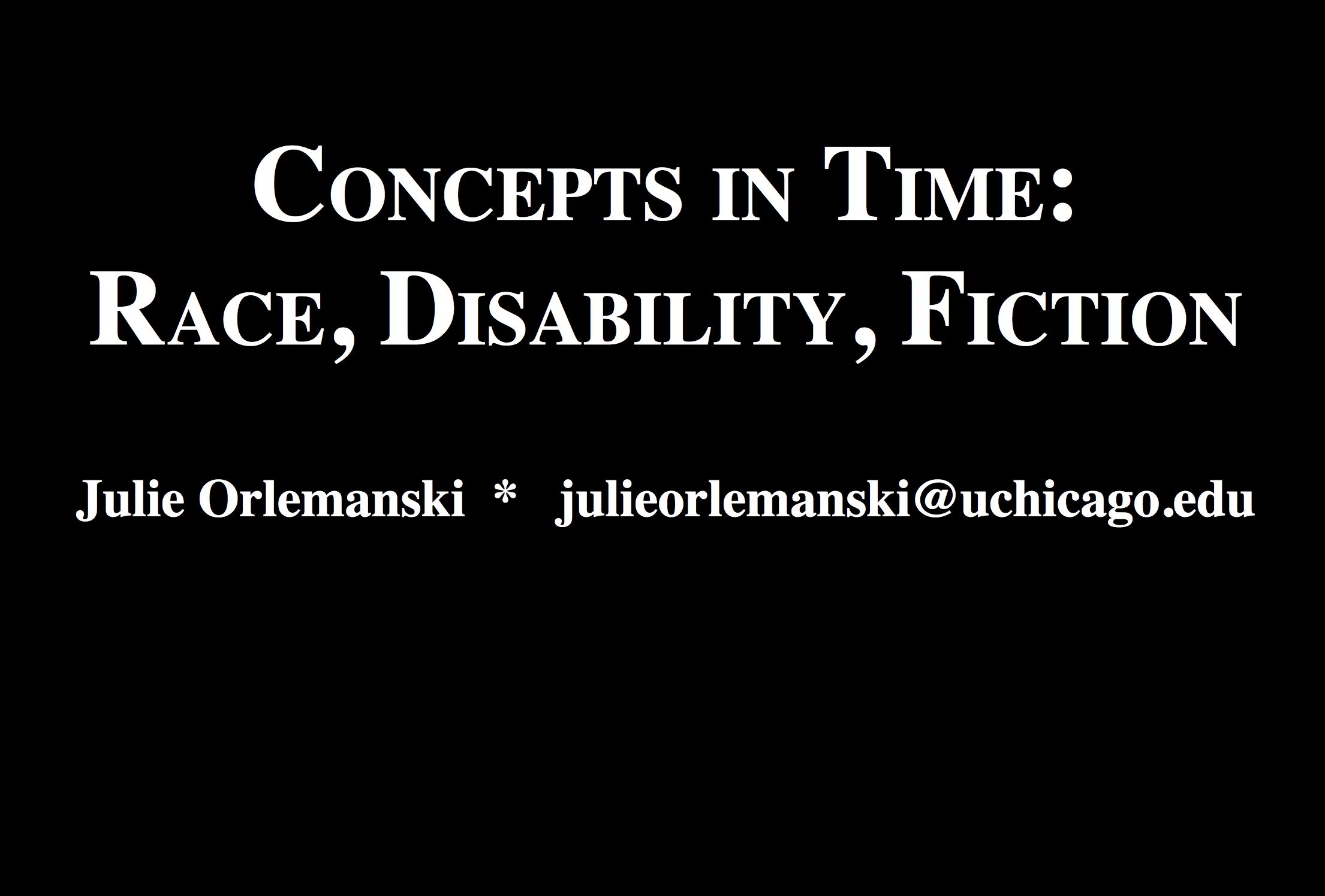 Julie Orlemanski